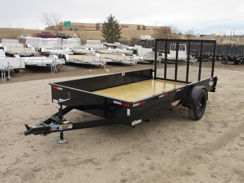 2021 H&H H7612SS-030 Utility Trailer