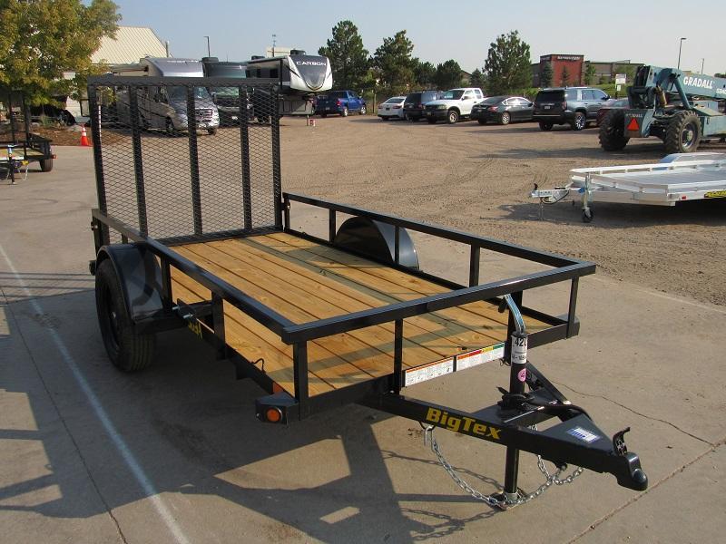 2022 Big Tex Trailers 30SA-10BK4RG Utility Trailer