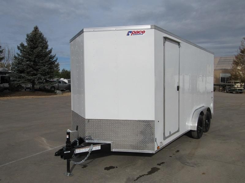 2022 Pace American PSCAB7.5X16TE2FF Enclosed Cargo Trailer