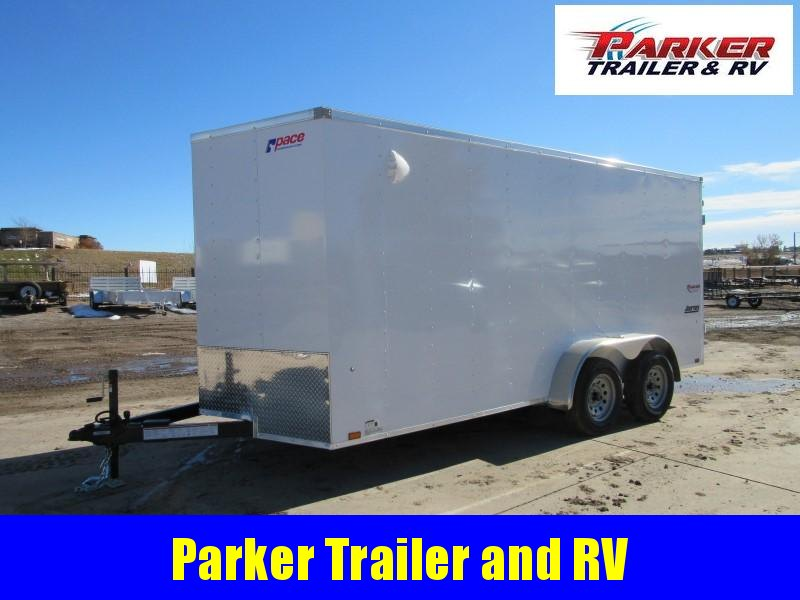 2021 Pace American PSCBA7.0X16TEE2FE Enclosed Cargo Trailer