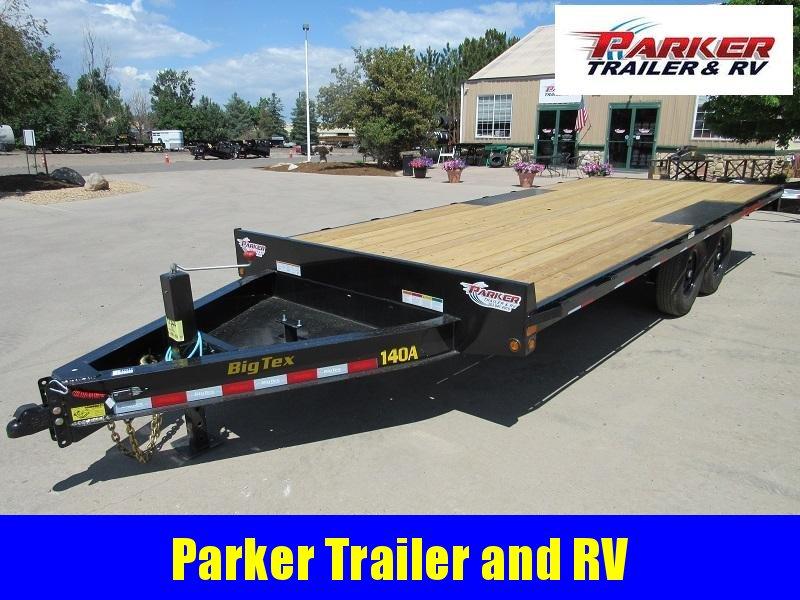 2022 Big Tex Trailers 14OA-20BK-8SIR Flatbed Trailer