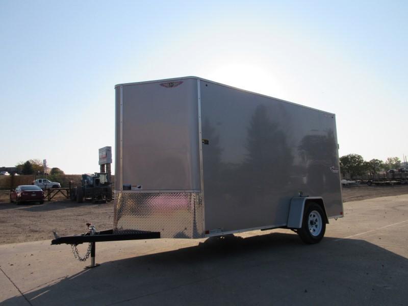 2021 H&H H7212SFTV-035 Enclosed Cargo Trailer