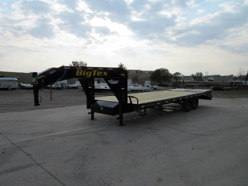 2021 Big Tex Trailers 14GN-20BK+5MR Flatbed Trailer