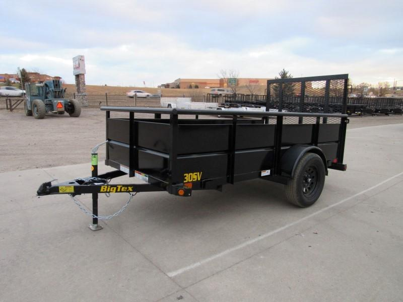 2021 Big Tex Trailers 30SV-10BK Utility Trailer