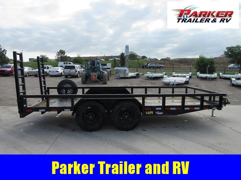 2018 Big Tex Trailers 14PI-18 Utility Trailer