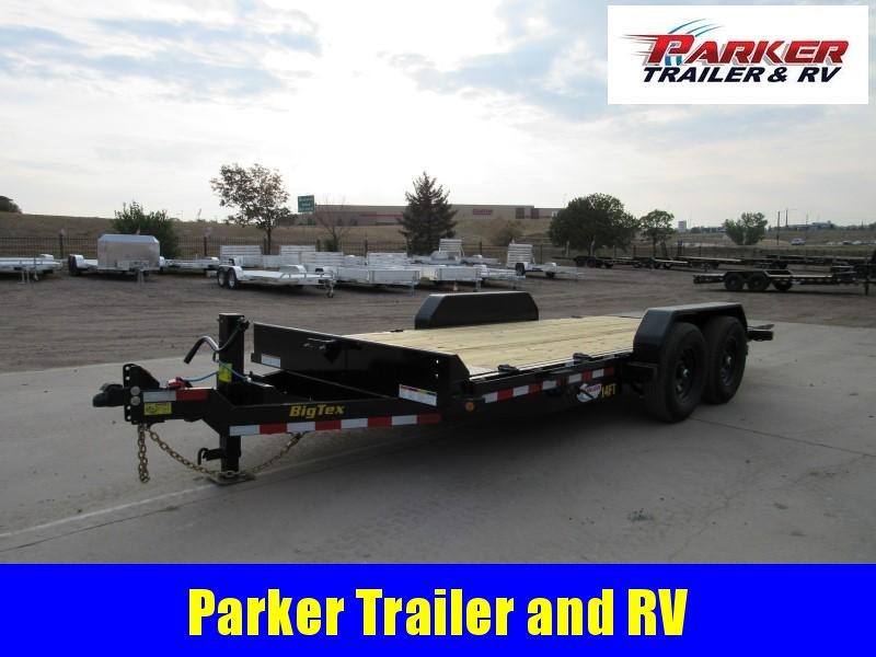 2021 Big Tex Trailers 14FT-18 Flatbed Trailer