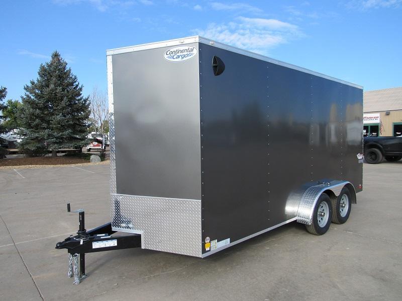 2022 CONTINENTAL CARGO TXVHW716TA2 Enclosed Cargo Trailer