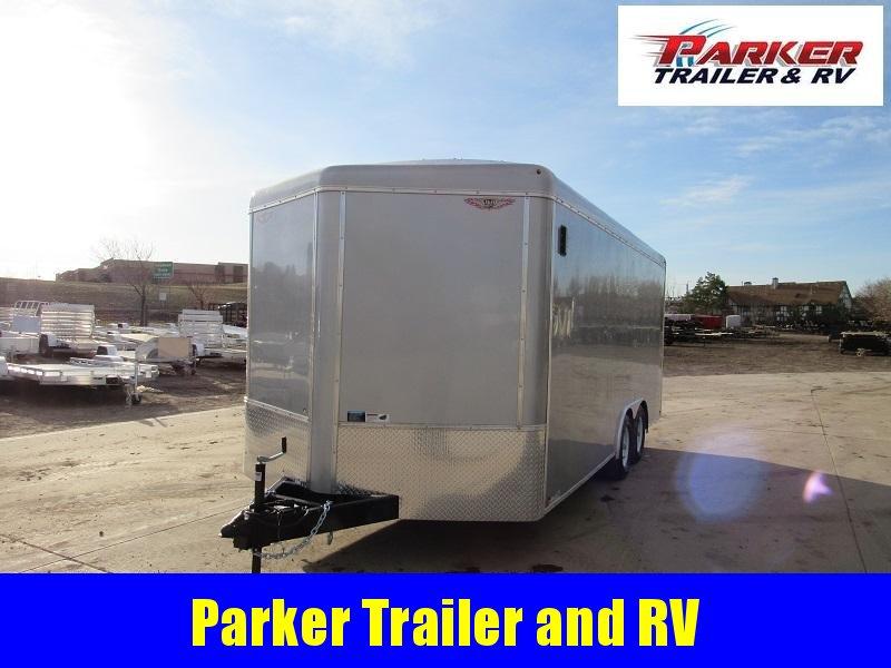 2021 H&H H10118TRTV-100 Enclosed Cargo Trailer