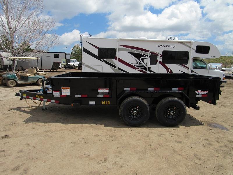 2022 Big Tex Trailers 14LD-14BK Dump
