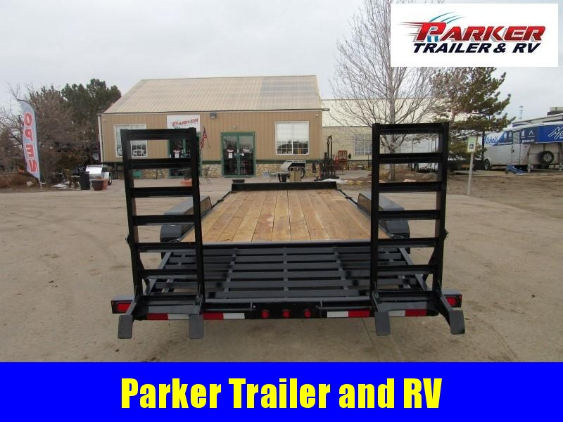 2021 Big Tex Trailers 14ET-18BK-KR Flatbed Trailer