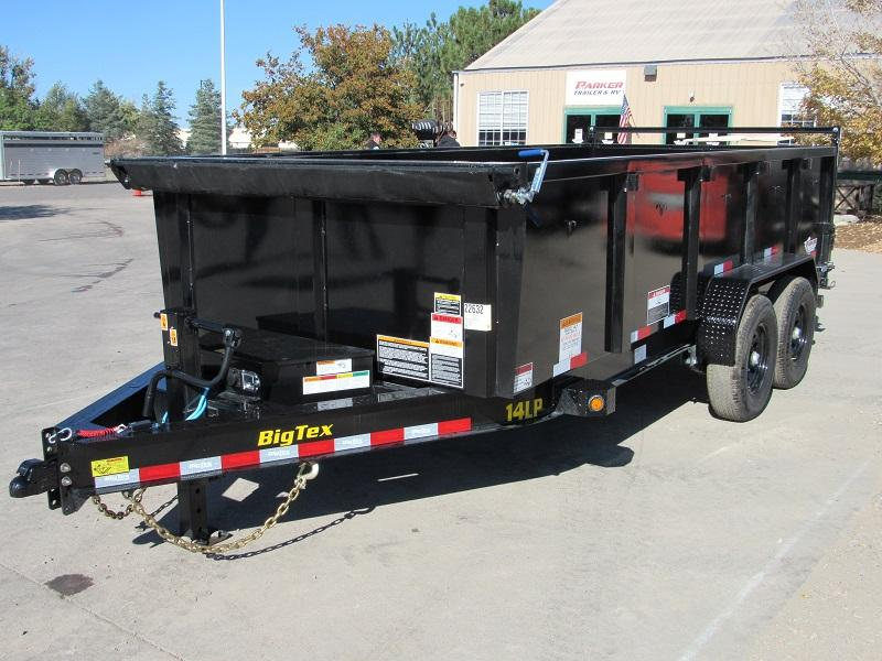 2022 Big Tex Trailers 14LP-16BK-P3 Dump
