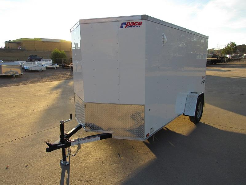 2022 Pace American PSCBA6.0X12SI2FE Enclosed Cargo Trailer