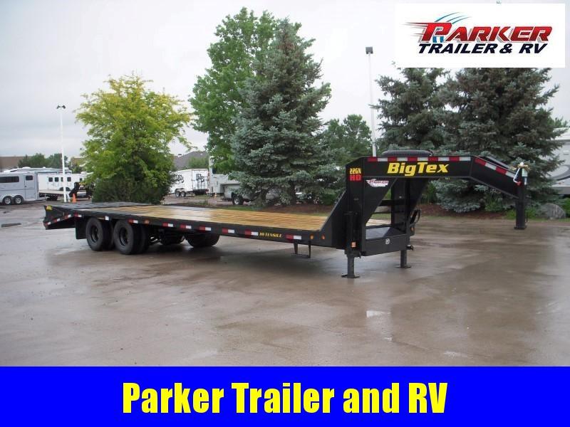2020 Big Tex Trailers 22GN-25+5 Flatbed Trailer