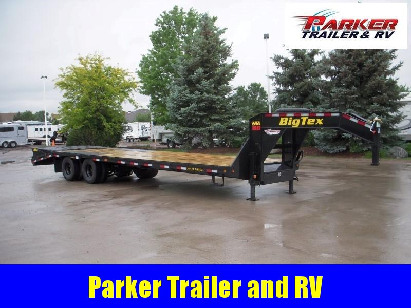 2020 Big Tex Trailers 22GN-25+5 Flatbed Trailer