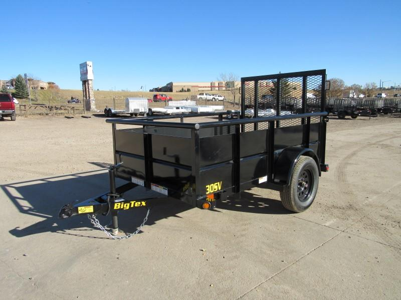 2021 Big Tex Trailers 30SV-08BK Utility Trailer