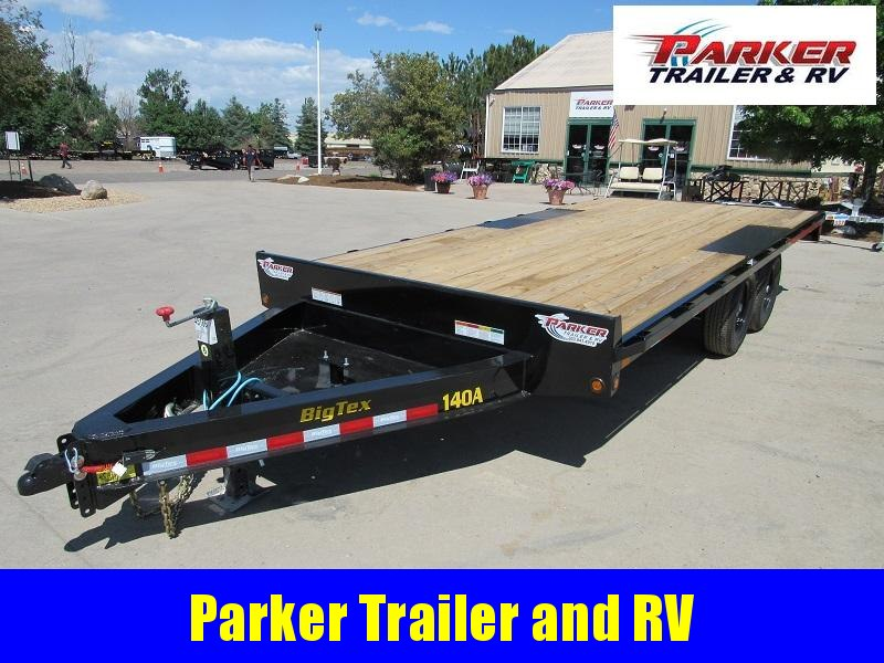2021 Big Tex Trailers 14OA-18BK-8SIR Flatbed Trailer