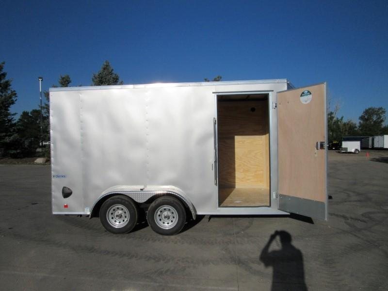 2021 CONTINENTAL CARGO TXVHW714TA2 Enclosed Cargo Trailer