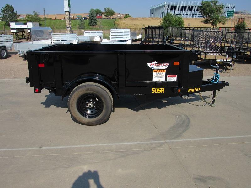 2022 Big Tex Trailers 50SR-08-5WDD Dump