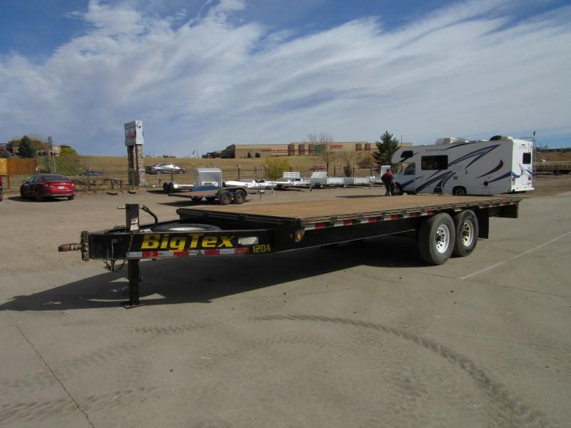 2007 Big Tex Trailers 12OA Flatbed Trailer