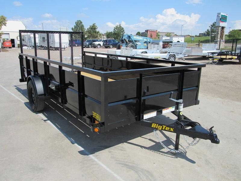 2022 Big Tex Trailers 35SV-14BK Utility Trailer