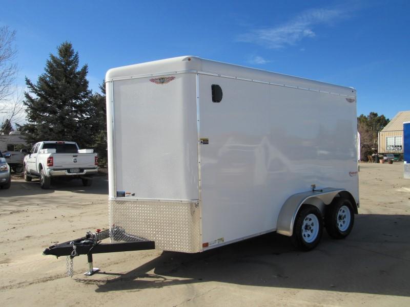 2021 H&H H7212TRTV-070 Enclosed Cargo Trailer