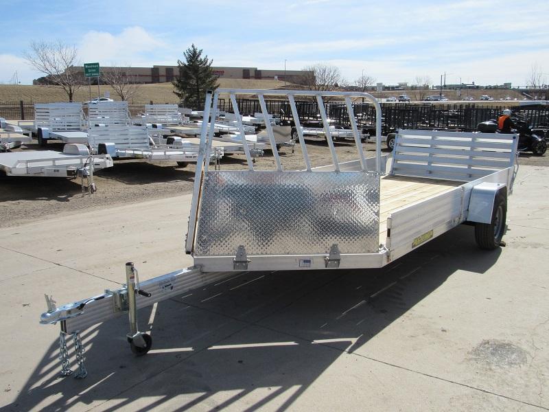 2022 Aluma 8114WD-S-R-BT-SR Utility Trailer