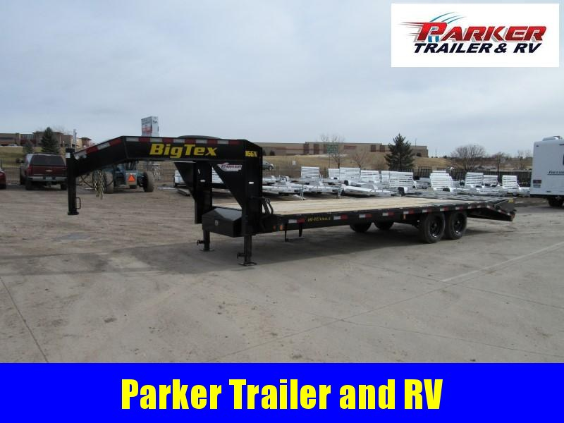 2020 Big Tex Trailers 16GN20+5 Flatbed Trailer