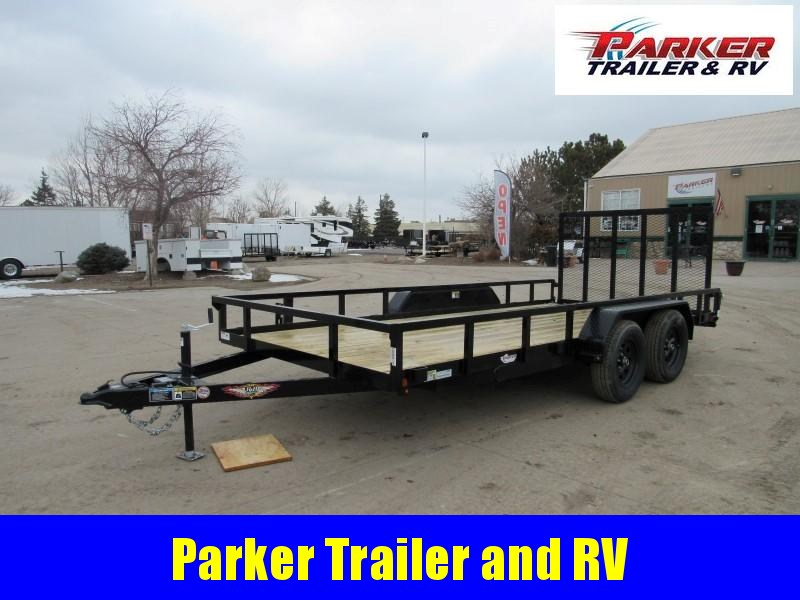 2021 H&H H8216HTRS-100 Utility Trailer