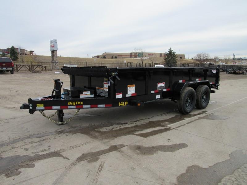 2021 Big Tex Trailers 14LP-16BK6SIRPD Dump