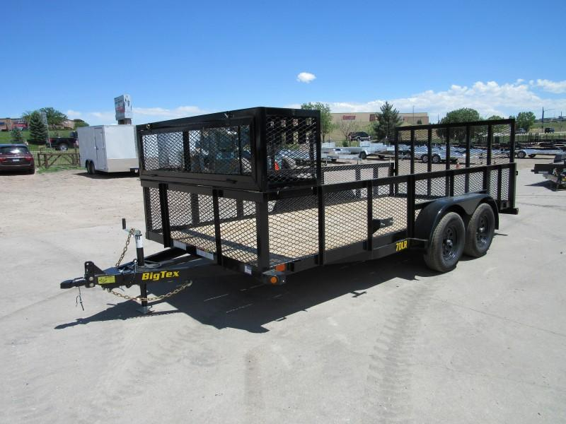 2020 Big Tex Trailers 70LR-16BK Utility Trailer