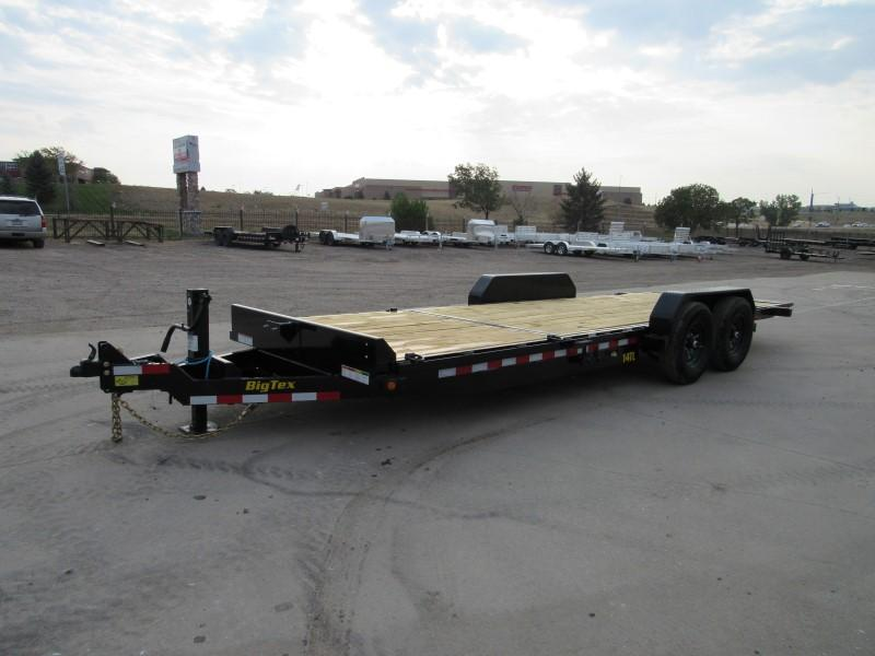 2021 Big Tex Trailers 14TL-22BK Flatbed Trailer