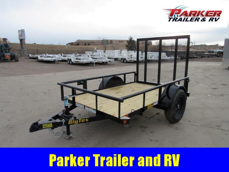 2021 Big Tex Trailers 30SA-08BK4RG Utility Trailer