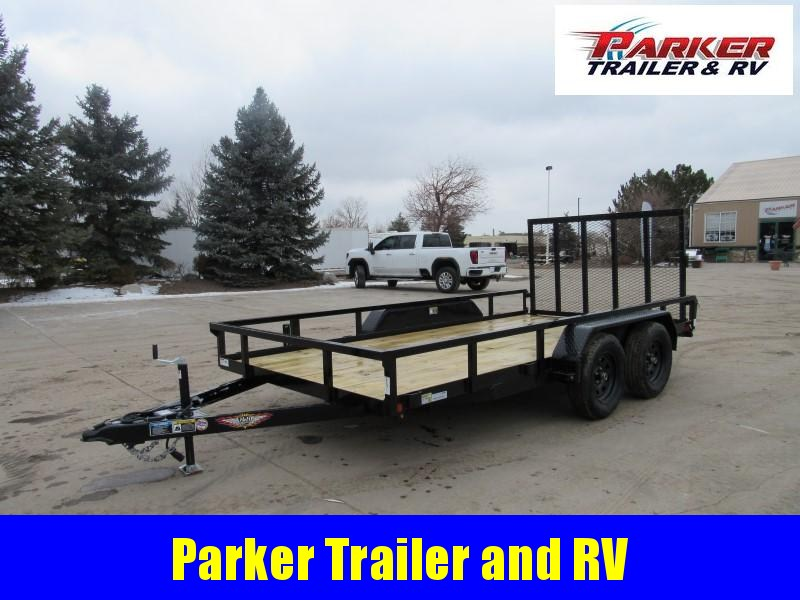 2021 H&H H8214TRS-070 Utility Trailer