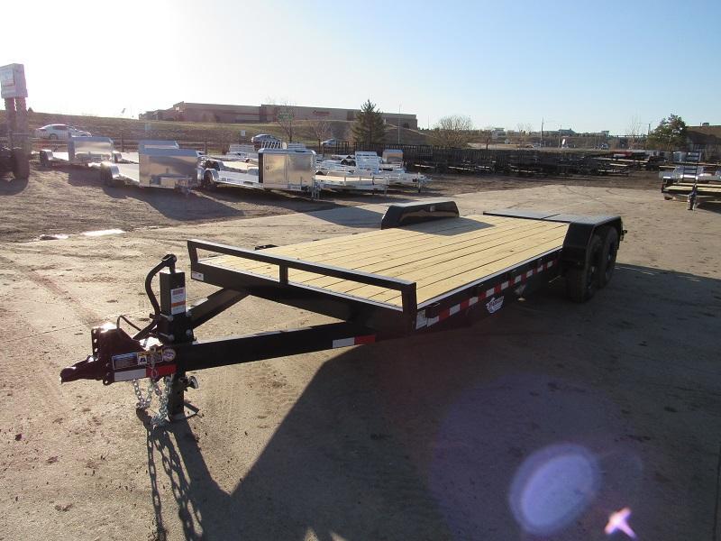 2021 H&H H8218+4ILSDR-140 Flatbed Trailer