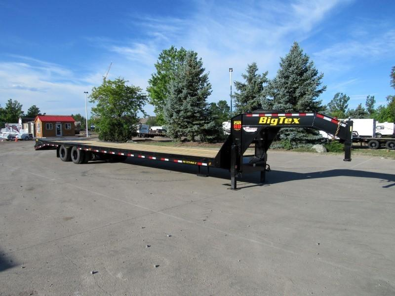 2021 Big Tex Trailers 25GN-35BK+5MR Flatbed Trailer
