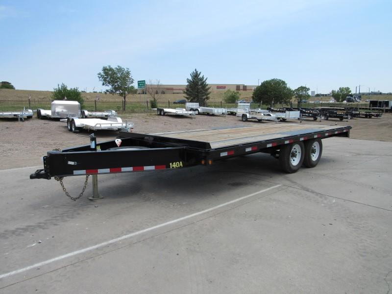 2017 Big Tex Trailers 14OA-18 Flatbed Trailer