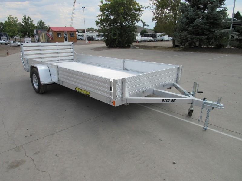 2021 Aluma 8115S-R-BT-SR Utility Trailer