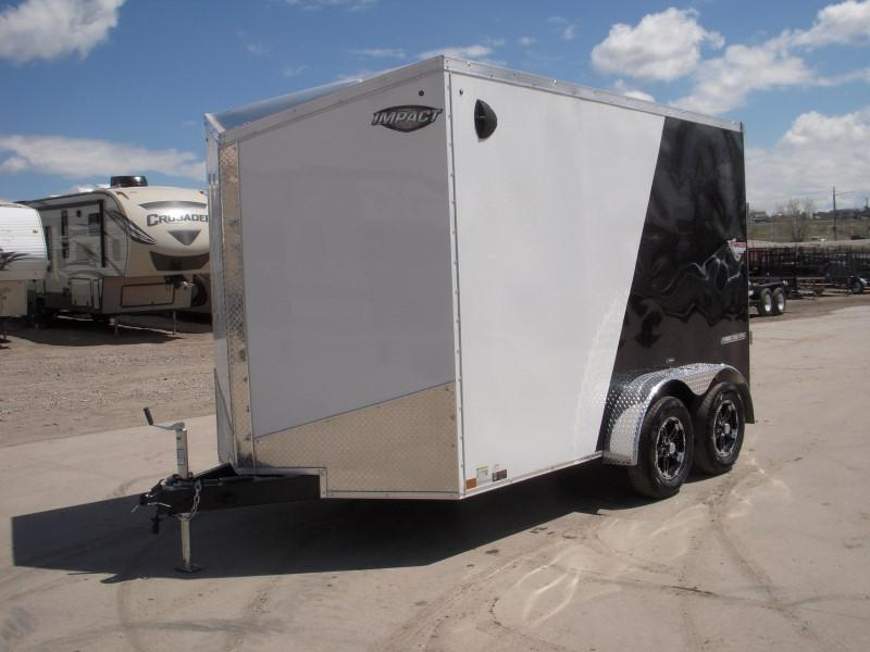 2020 Impact Trailers ITS712TA2 Enclosed Cargo Trailer