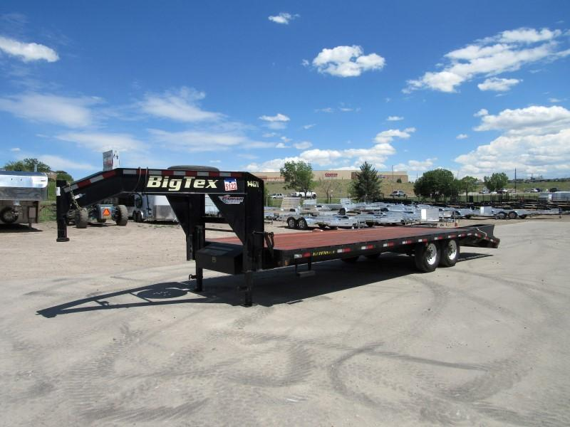 2016 Big Tex Trailers 14GN-20+5 Flatbed Trailer