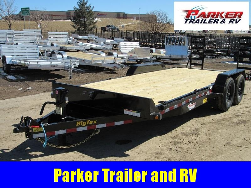 2021 Big Tex Trailers 14ET-20BKKR Flatbed Trailer