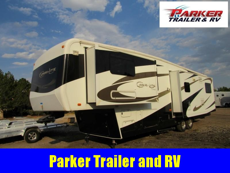 2008 Carriage Inc. 36FDQ Camping / RV Trailer