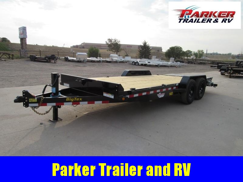 2021 Big Tex Trailers 14ET-20BK-MR Flatbed Trailer