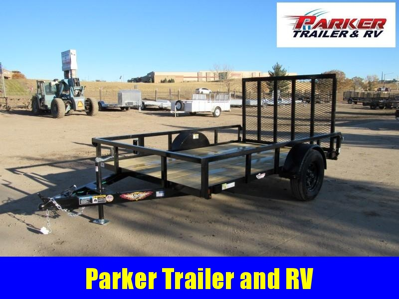2021 H&H H7610RS-030 Utility Trailer