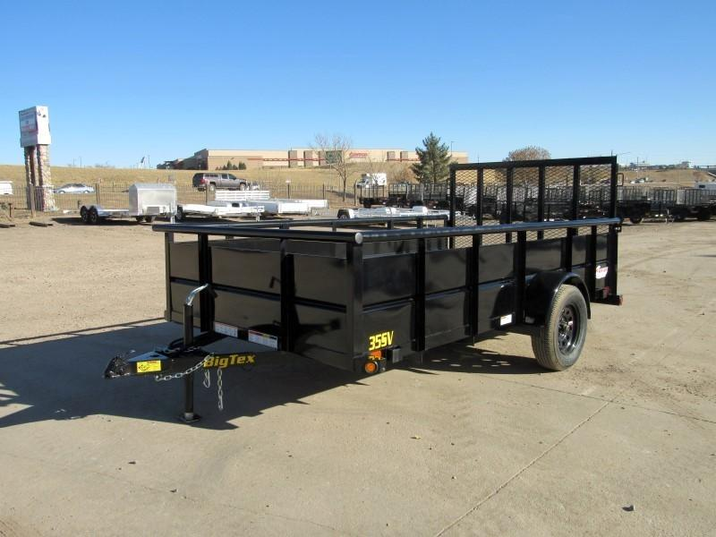 2021 Big Tex Trailers 35SV-12BK Utility Trailer