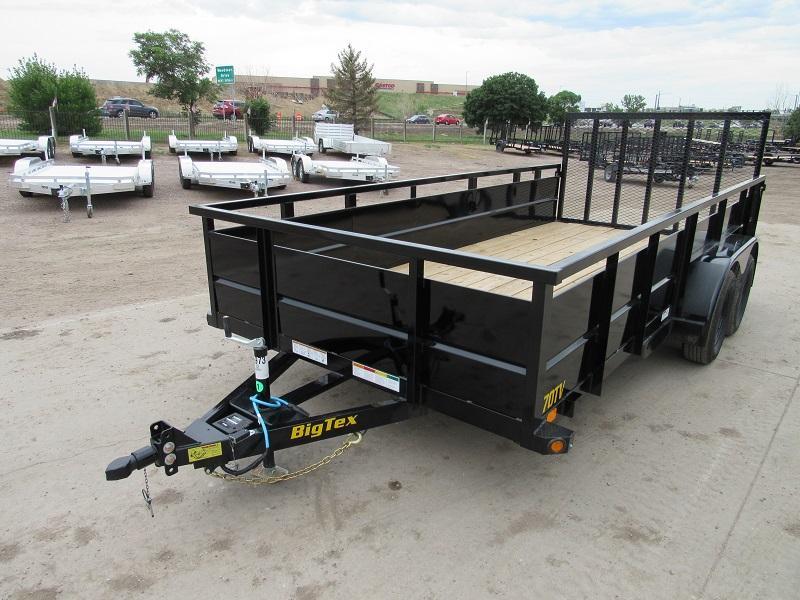 2021 Big Tex Trailers 70TV-16 Utility Trailer