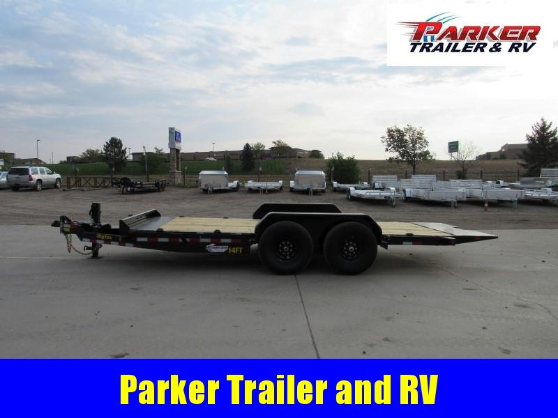 2021 Big Tex Trailers 14FT-18BK Flatbed Trailer