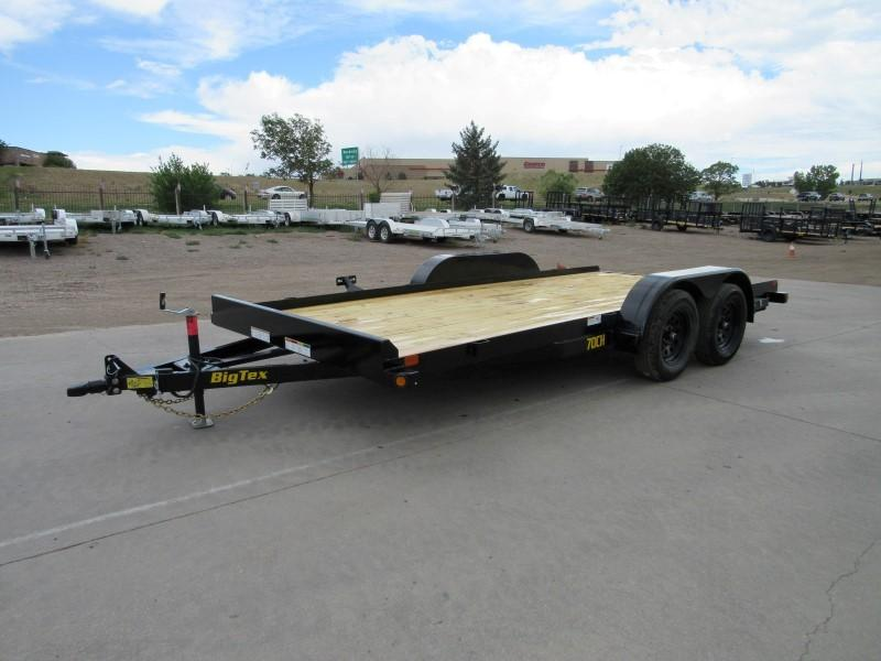 2021 Big Tex Trailers 70CH-16 Flatbed Trailer