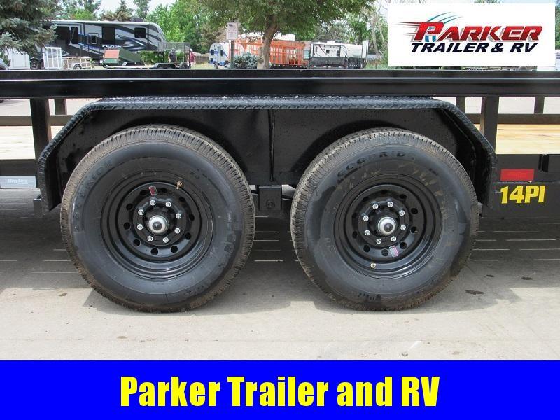 2022 Big Tex Trailers 14PI-20BK Flatbed Trailer