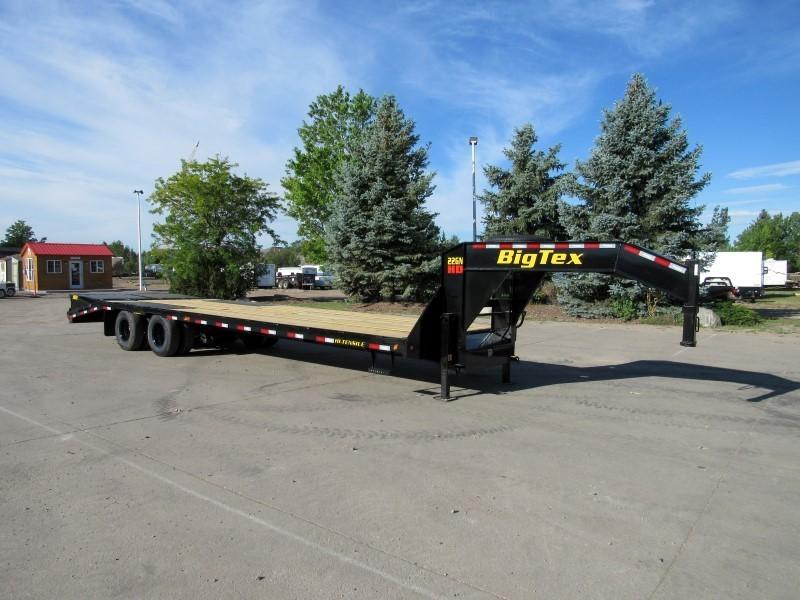 2021 Big Tex Trailers 25GN-25BK+5MR Flatbed Trailer