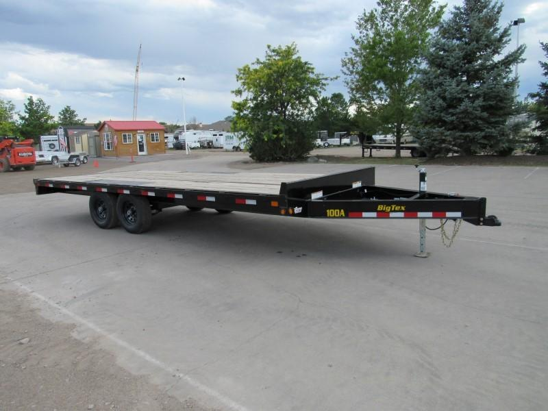 2020 Big Tex Trailers 10OA-20BK-8SIR Flatbed Trailer